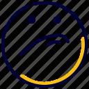 emoji, emoticon, expression, feelings, prejudice icon