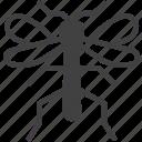 gnat, insect, malaria, mosquito icon