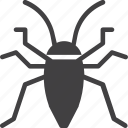 bug, cockroach, insect, roach icon