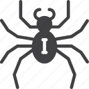 arachnid, insect, spider icon