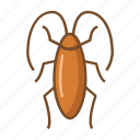 bugs, cockroach, cockroaches, insect, virus, viruses icon