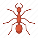 ant, bug, bugs, insect, insecticide, sting, sugar icon