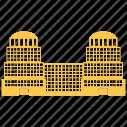 building, city, company, construction icon