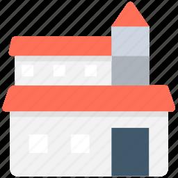 house, hut, lodging, shack, villa icon