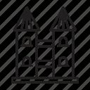 edifice, tower, architecture, building icon