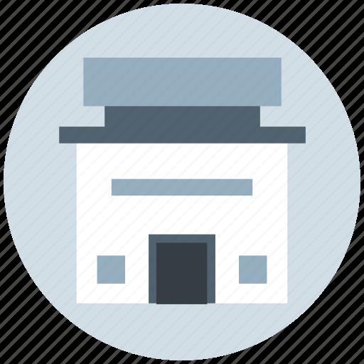 building, institute building, marketplace, shop, store icon