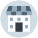 building, institute building, market, marketplace, shop, store icon