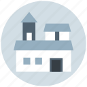 building, luxury house, mansion, palace, villa icon