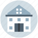 apartment, building, family house, home, house, villa icon