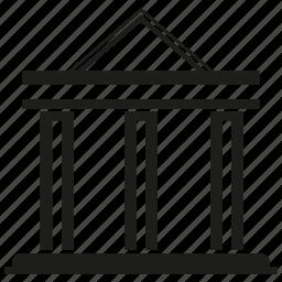 bank, building icon