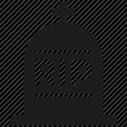 churchyard, grave, graveyard, tomb icon