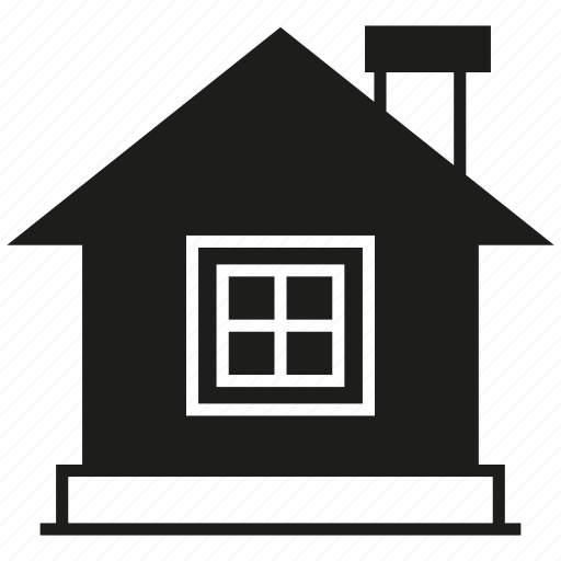 building, home, house, window icon