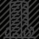 architecture, building, condo, dwelling, exterior, hotel