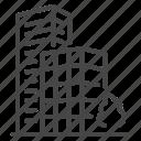 architecture, building, condominium, dwelling, exterior, hotel, mall icon