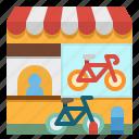 bicycle, bike, city, rent, service icon