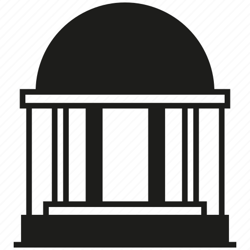 building, dome icon