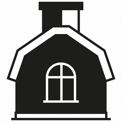 building, farmhouse, home, house icon