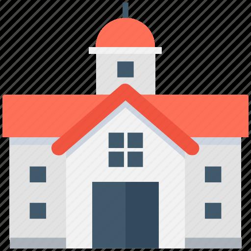 Building, institute, school, college, university icon