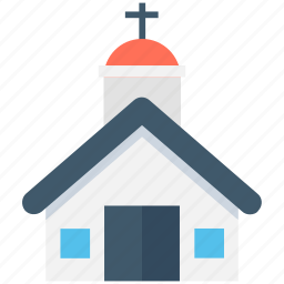 chapel, christianity, church, religious building, religious place icon