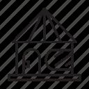 residence, edifice, building, house icon