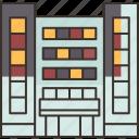 condominium, residential, hotel, accommodation, building