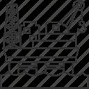 oil, platform, petroleum, energy, industry