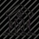 edifice, barn, building, farmhouse icon