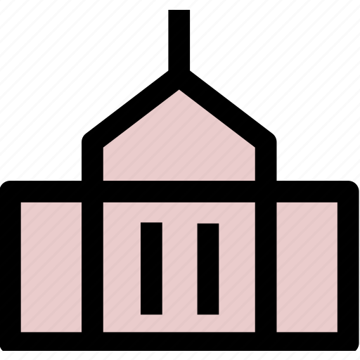 bank, building, construction, govement, house icon