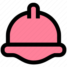 building, construction, engineering, hat, project icon