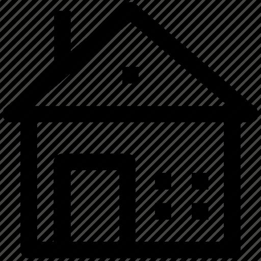 1, apartment, family house, home, house, villa icon