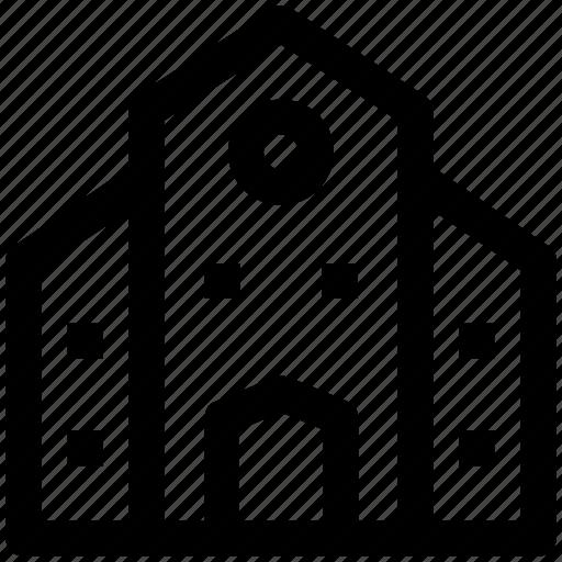.svg, building, institute, institute building, real estate, school icon