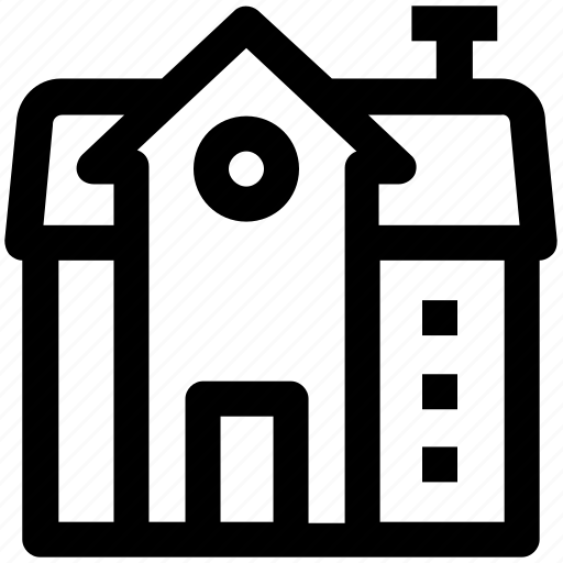 .svg, building, commercial building, home, house, modern building, real estate icon