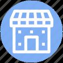 building, institute building, market, marketplace, shop, store