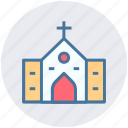 building, religious place, religious building, christianity, church, chapel icon