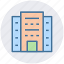 building, city building, hotel, skyscraper, office block, flats icon