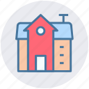 building, modern building, house, commercial building, real estate, home icon