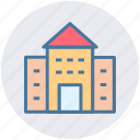 building, modern building, commercial building, office, real estate icon