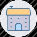 building, villa, house, hut, shack, cottage, home icon