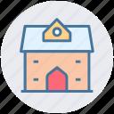 building, villa, hut, shack, cottage, home icon