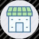 building, shop, marketplace, institute building, market, store icon
