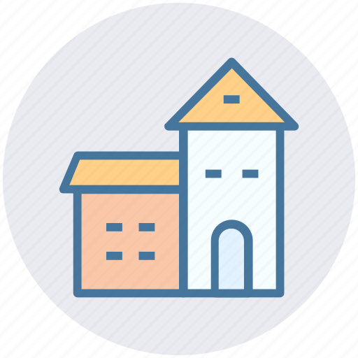 building, house, luxury house, mansion, palace, villa icon
