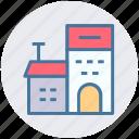 building, farmhouse, storehouse, house, storeroom, warehouse, home icon