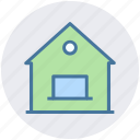 building, family house, apartment, villa, house, home icon