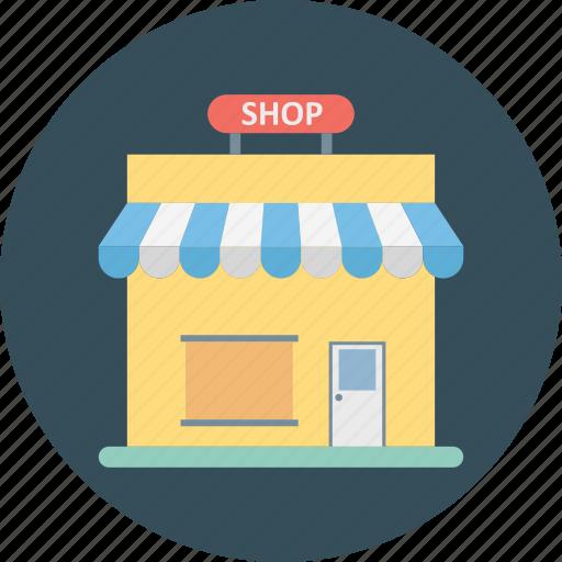 market, retail shop, shop, shopping store, store icon