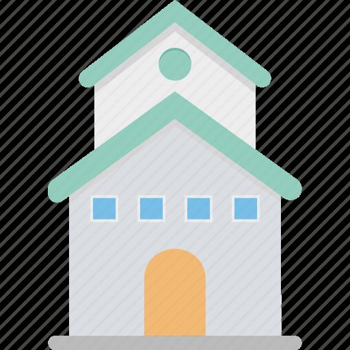 building, cottage, lodge, museum, museum building icon