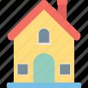 cottage, hut, home, villa, shack