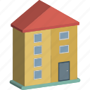 building, commercial building, hotel, office, real estate icon