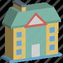 school, institute building, institute, building, real estate icon