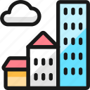 building, cloudy