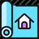 project, blueprint, home